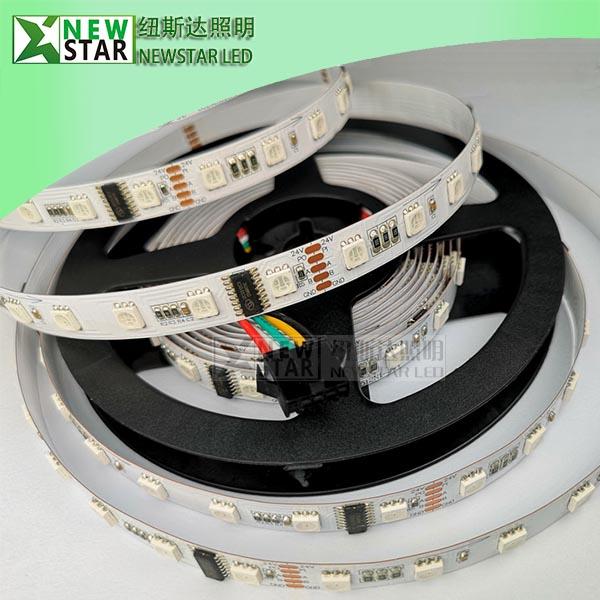 DMX512 60LEDS DC24V RGB Pixel Digital LED Strip Lights-1