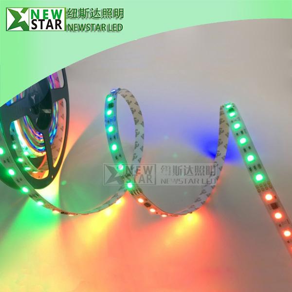 DMX512 30LEDS DC12V RGB Pixel Digital LED Strip Lights-2