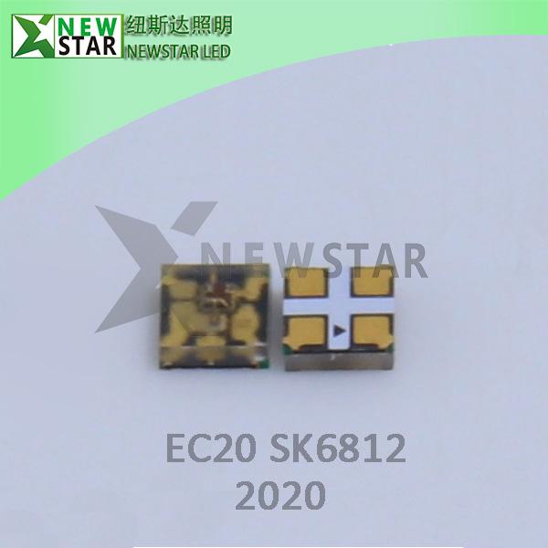 EC20 SK6812-2020 RGB PIXEL LED CHIP-7