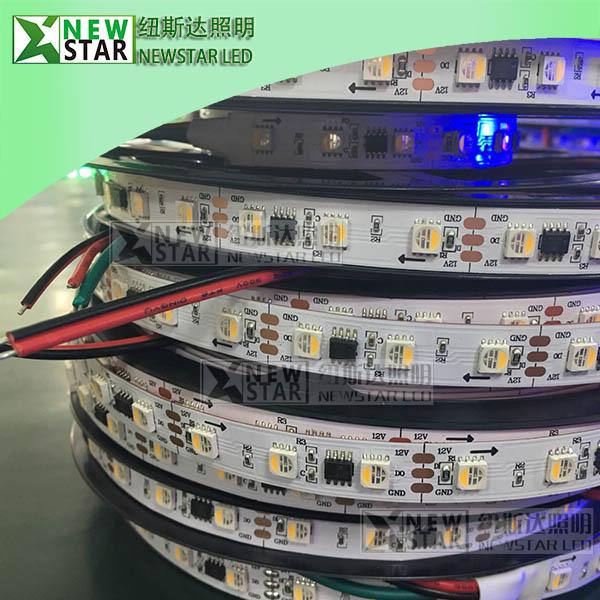 TM1814-RGBW-LED-Pixel-Strip-12V-IP30-60leds-20pixels